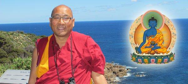 Geshe Sherab Medicine Buddha