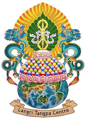 Langri Tangpa Centre Logo