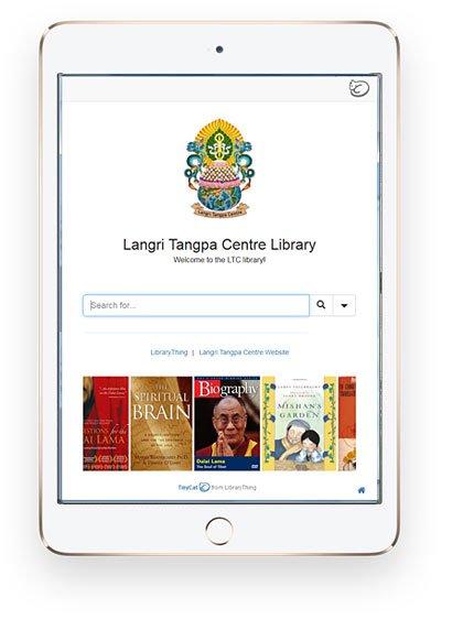 Langri Tangpa Centre Library