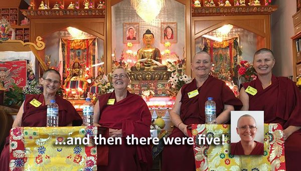 Help Our Nuns Attend Rinpoche's Teachings