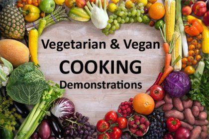 Vegetarian & Vegan Cooking Demonstrations