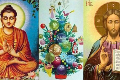 How to do Christmas for Buddhists