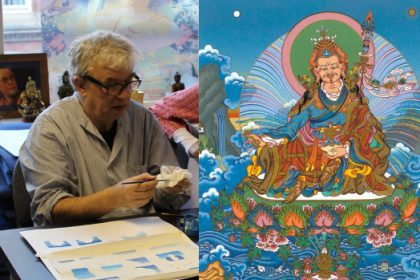 Andy Weber Art Workshop - Guru Rinpoche